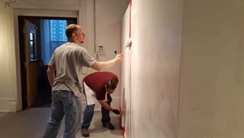 Painting at PlatteForum