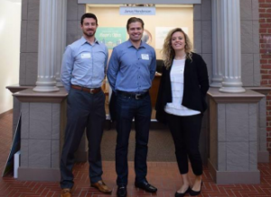 First Western associates volunteering at Young Americans Center for Financial education