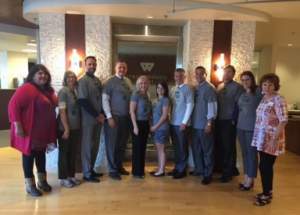 First Western associates volunteering for Cancer Support Community of Arizona